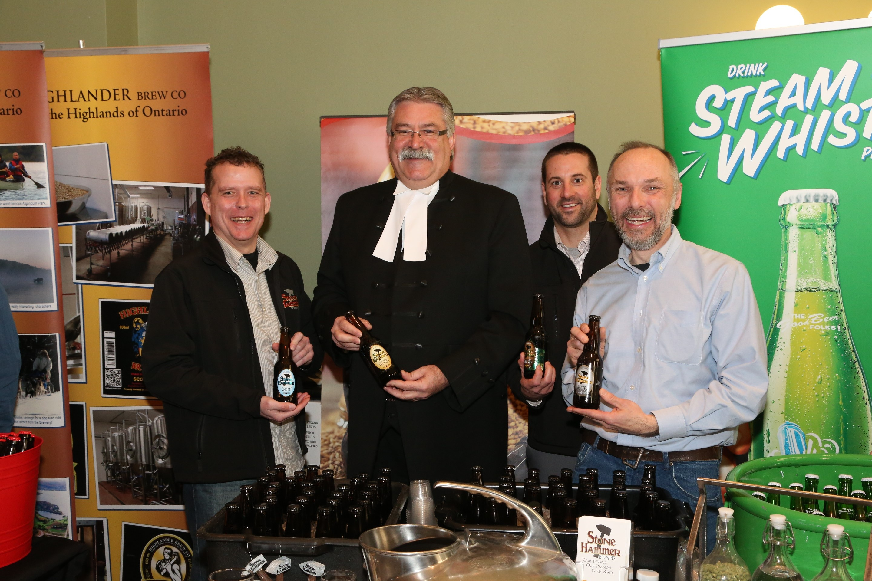 Ontario Speaker Of The House Sampling Local Craft Beer